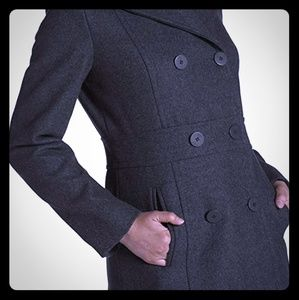 Kenneth Cole Reaction Double Breasted Peacoat